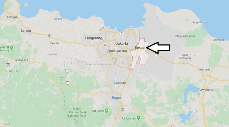 Where is Bekasi Located? What Country is Bekasi in? Bekasi Map