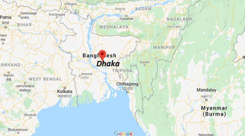 Where is Dhaka Located? What Country is Dhaka in? Dhaka Map ...
