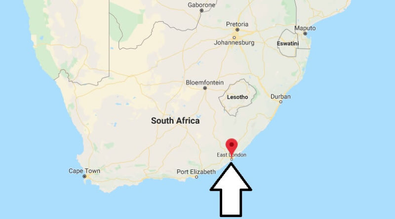 East London South Africa Map Where is East London, South Africa Located? What Country is East