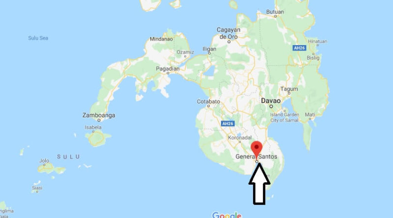 Where is General Santos Located? What Country is General ...