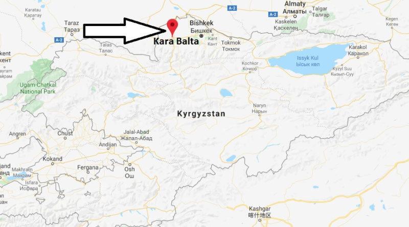 Where is Kara Balta Located? What Country is Kara Balta in ...