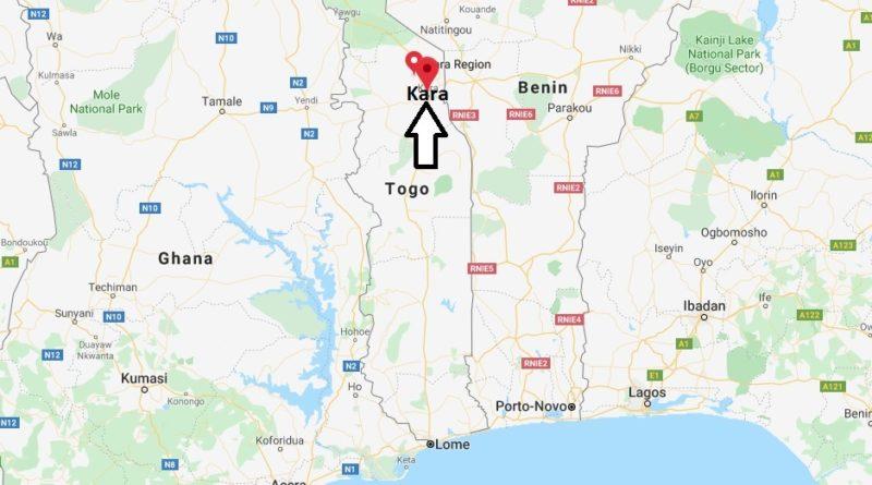 Where is Kara, Togo Located? What Country is Kara in? Kara ...