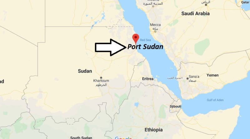Where is Port Sudan Located? What Country is Port Sudan in? Port Sudan Map
