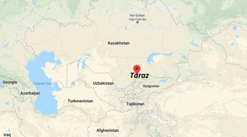 Where is Taraz Located? What Country is Taraz in? Taraz Map