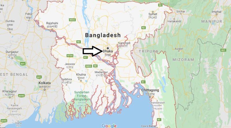 Dhaka Map and Map of Dhaka, Dhaka on Map | Where is Map