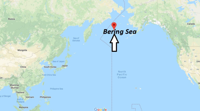 Where Is Bering Sea What Country Is The Bering Sea In Where Is Map