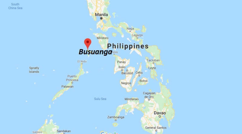 Where is Busuanga Located? What Country is Busuanga in? Busuanga Map