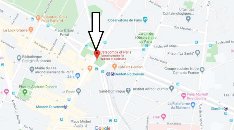 Where is Catacombs of Paris Located? What Country is ... on paris shopping map, breaking point map, capitoline hill map, fishing map, catacombes de paris map, vatican city location map, danzig map, abyss map, labyrinth map, frozen map, palatine hill map, los angeles map, cemetery map, manhattan area map, caves map, pacman map, minsk map, pantheon map, graveyard map,