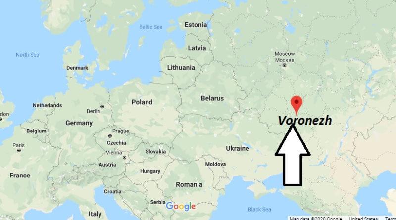 Where is Voronezh Located? Where is Voronezh Located? Voronezh Map