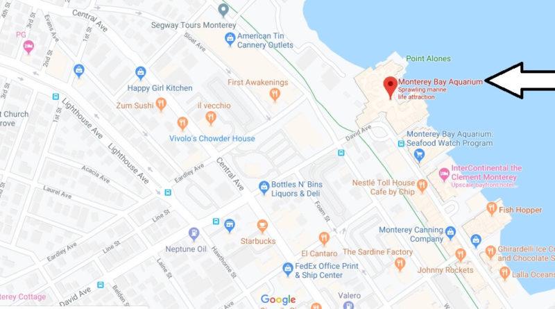 Where is Monterey Bay Aquarium? What city is Monterey Bay Aquarium?