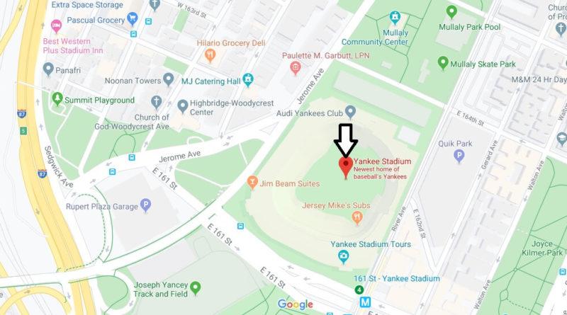 Where Is Yankee Stadium Where Was Old Yankee Stadium Located