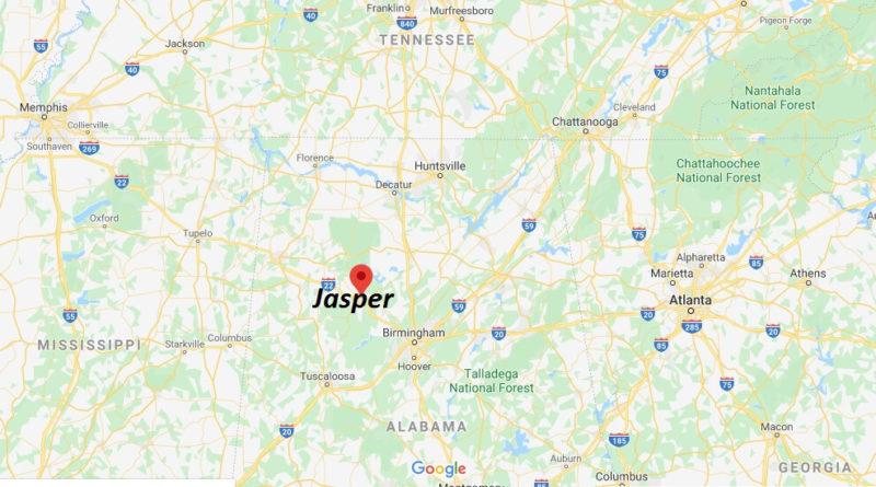 Where is Jasper Alabama? What county is Jasper in?