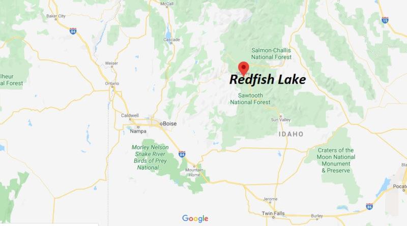redfish lake idaho map Where Is Redfish Lake How Far Is Redfish Lake Where Is Map redfish lake idaho map