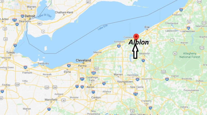 Where is Albion Pennsylvania? Where is zip code 16401