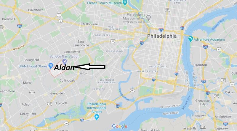 Where is Aldan Pennsylvania? What county is Aldan PA?