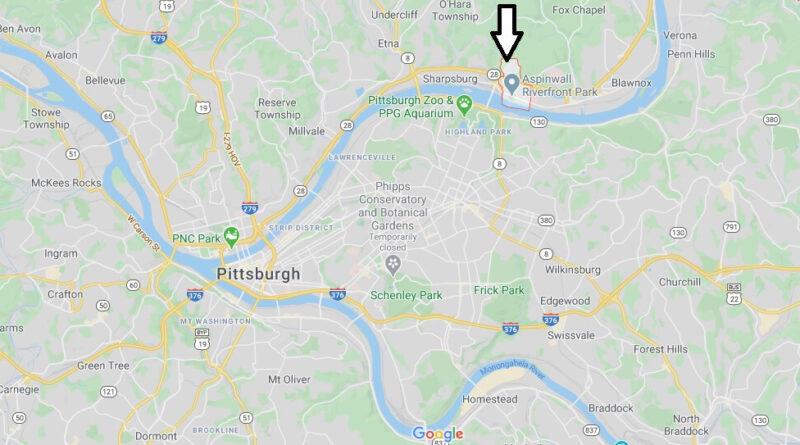 Where is Aspinwall Pennsylvania? Where is zip code 15215