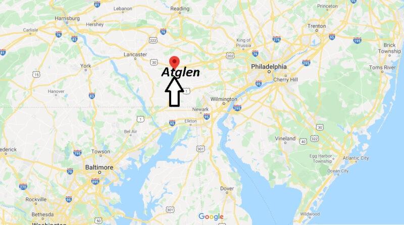 Where is Atglen Pennsylvania? Where is zip code 19310