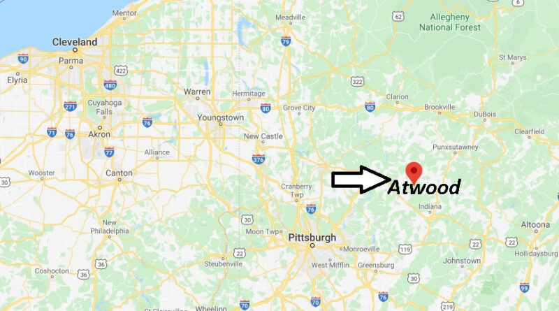 Where is Atwood Pennsylvania? What County Atwood in?