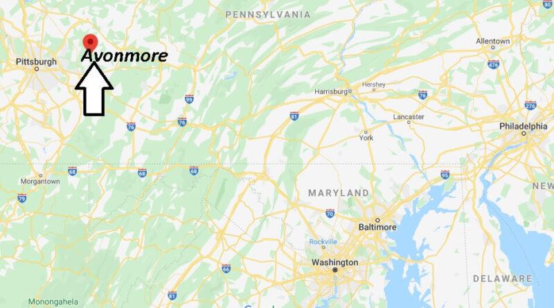 Where is Avonmore Pennsylvania? Where is zip code 15618