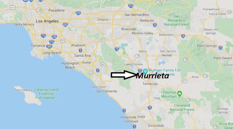 Where is Murrieta California? What county is Murrieta CA in