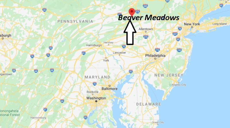 Where is Beaver Meadows Pennsylvania? Where is zip code 18216