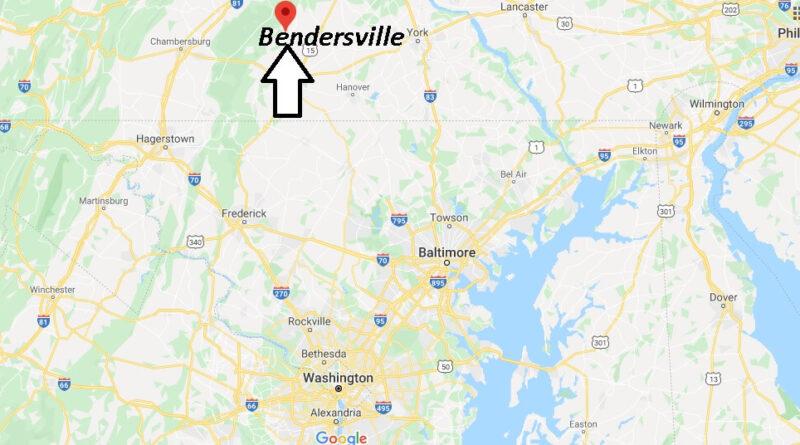 Where is Bendersville Pennsylvania? Where is zip code 17306