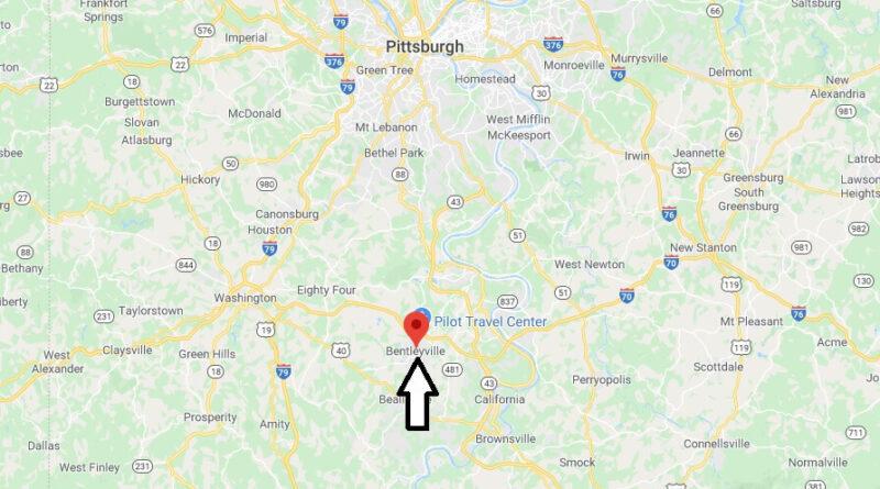 Where is Bentleyville Pennsylvania? Where is zip code 15314
