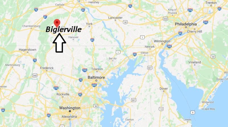 Where is Biglerville Pennsylvania? Where is zip code 17307