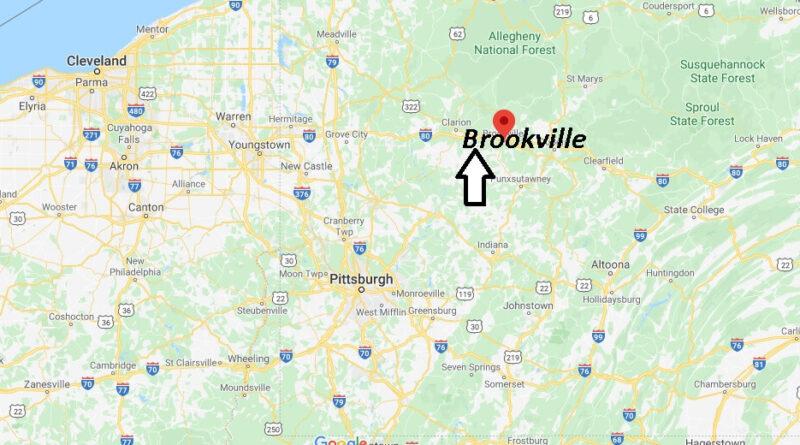 Where is Brookville Pennsylvania? Where is zip code 15825