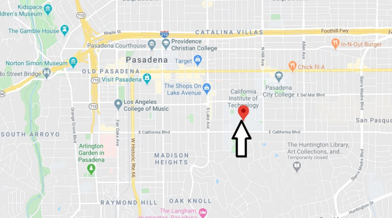 Where is California Institute of Technology Located? What City is California Institute of Technology in