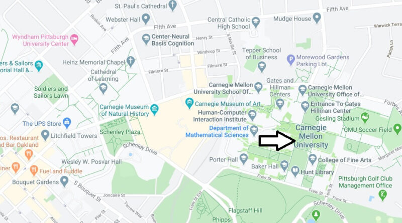 Where is Carnegie Mellon University Located? What City is Carnegie Mellon University in