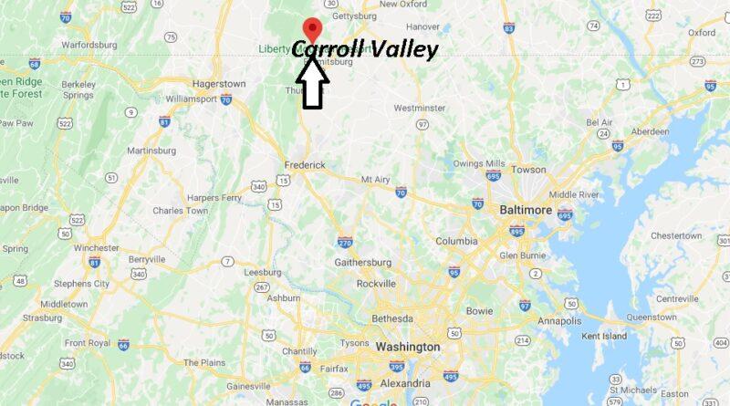 Where is Carroll Valley Pennsylvania? Zip code 17320