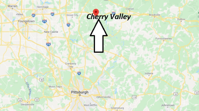 Where is Cherry Valley Pennsylvania? Zip code 16049