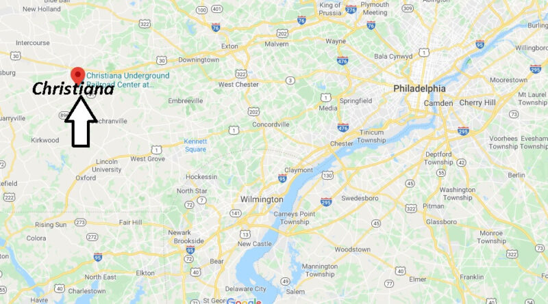 Where is Christiana Pennsylvania? Zip code 17509