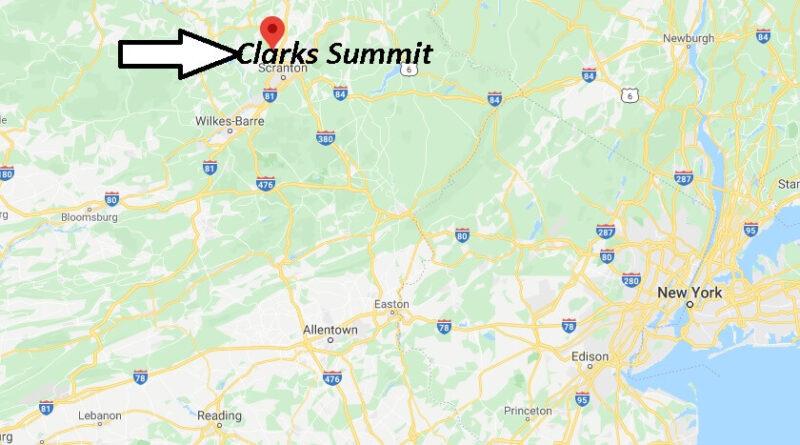 Where is Clarks Summit Pennsylvania? Zip code 18411
