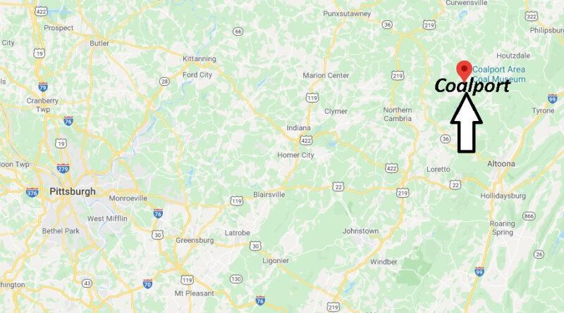 Where is Coalport Pennsylvania? Zip code 16627