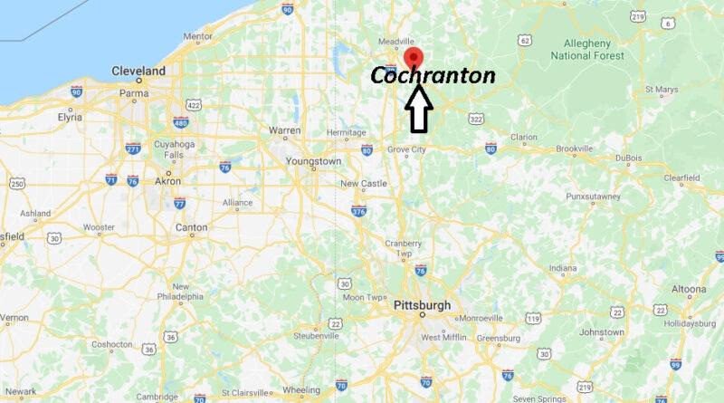 Where is Cochranton Pennsylvania? Zip code 16314