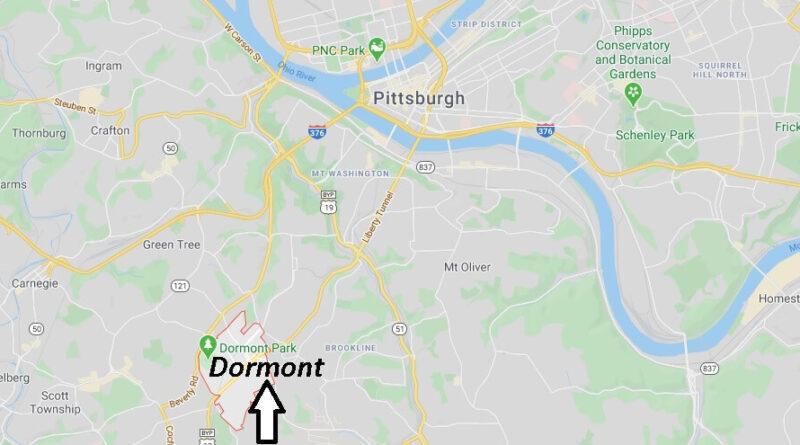 Where is Dormont Pennsylvania? Zip code 15216
