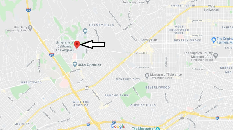 Where is University of California Los Angeles Located? What City is University of California in Los Angeles