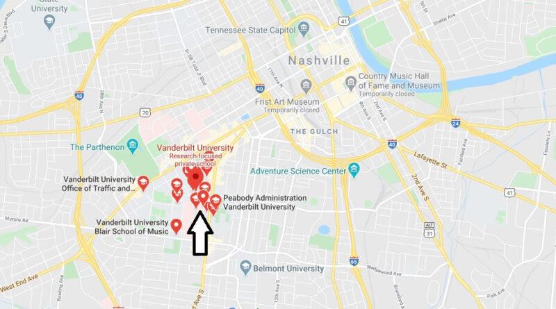 Where is Vanderbilt University Located? What City is Vanderbilt University in