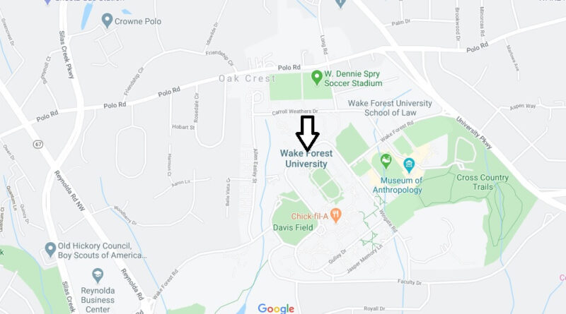 Where is Wake Forest University Located? What City is Wake Forest University in