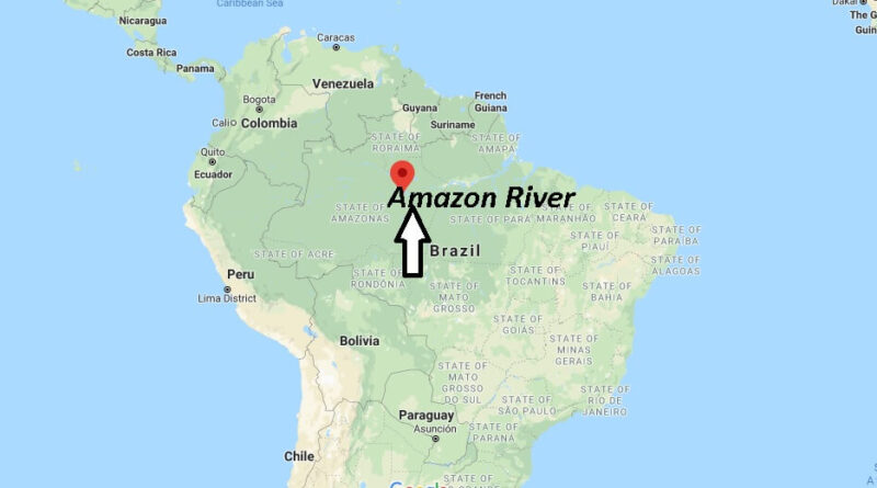 Where is Amazon River located? What country is the Amazon river located in