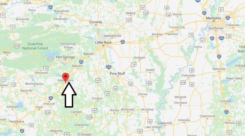 Where is Arkadelphia Arkansas? What County is Arkadelphia in