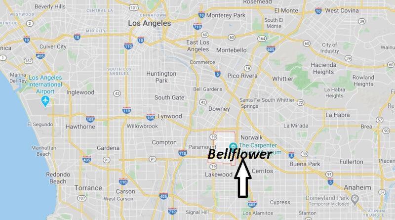 Where is Bellflower California? What County is Bellflower in