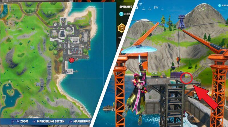Where is Dirty Docks? Where is dirty docks on the fortnite map
