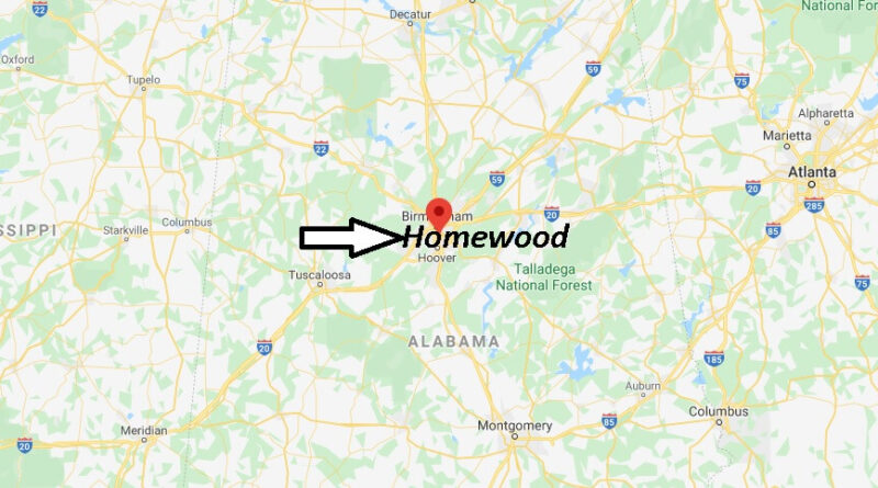 Where is Homewood Alabama? What County is Homewood in! ZIP code ‎35209