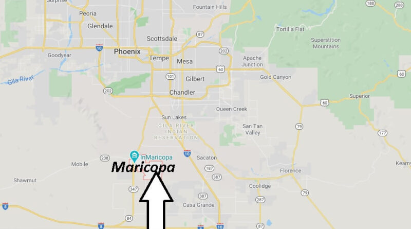 Where is Maricopa Arizona? What County is Maricopa in! ZIP code 85338