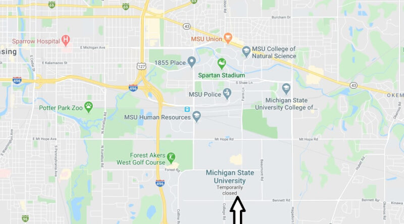 Where is Michigan State University Located? What City is Michigan State University in