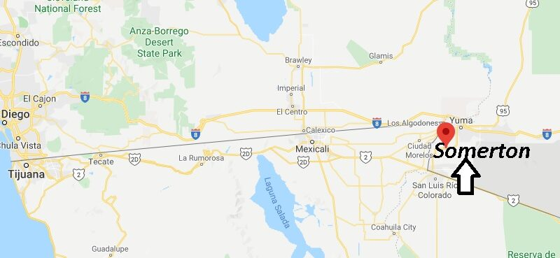 Where is Somerton Arizona? What County is Somerton in