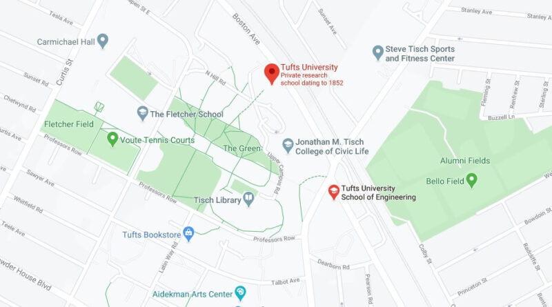 Where is Tufts University Located? What City is Tufts University in